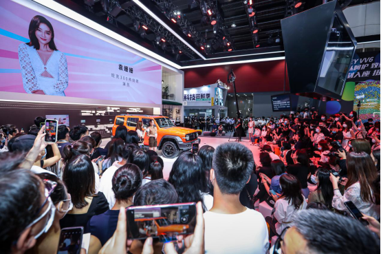WEY品牌广州车展大招频出 坦克300正式启动预售-图1