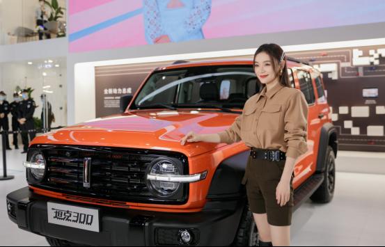 WEY品牌广州车展大招频出 坦克300正式启动预售-图2